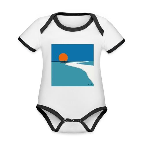 Polynesia - Organic Baby Contrasting Bodysuit