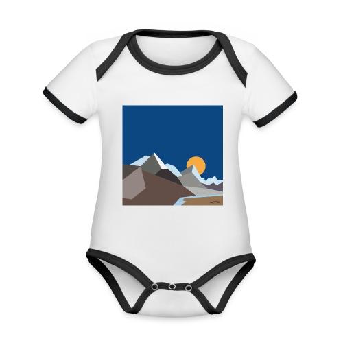Himalayas - Organic Baby Contrasting Bodysuit