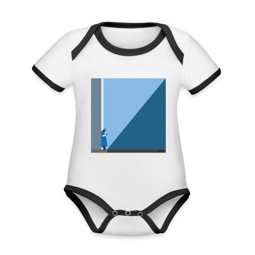 TOUAREG - Body Bébé bio contrasté manches courtes