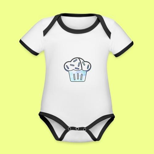 Pastel - Body contraste para bebé de tejido orgánico
