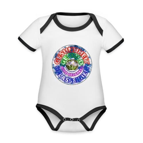 Besonderes Fruehjahr 2020 - Baby Bio-Kurzarm-Kontrastbody