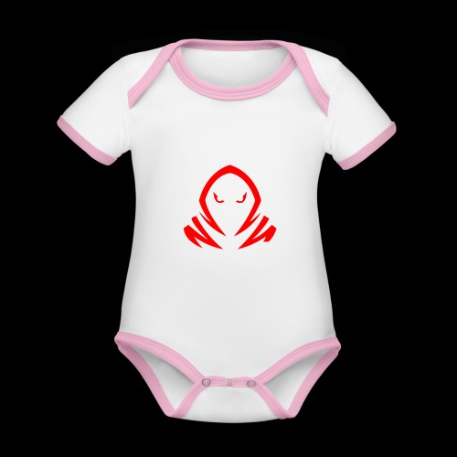New Official TagX Logo - Vauvan kontrastivärinen, lyhythihainen luomu-body