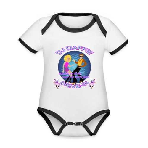 Logo2 png - Baby contrasterend bio-rompertje met korte mouwen