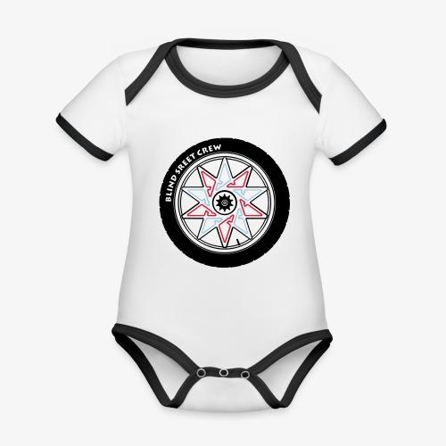 Blind Street Crew BMX - Body da neonato a manica corta, ecologico e in contrasto cromatico