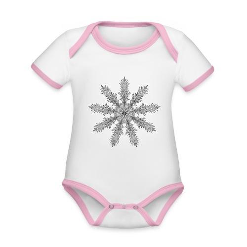 Magic Star Tribal #4 - Organic Baby Contrasting Bodysuit