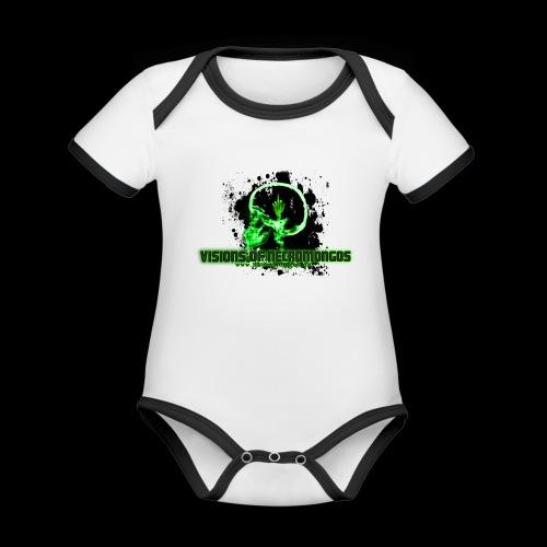 VISIONS OF NECROMONGOS - Baby Bio-Kurzarm-Kontrastbody