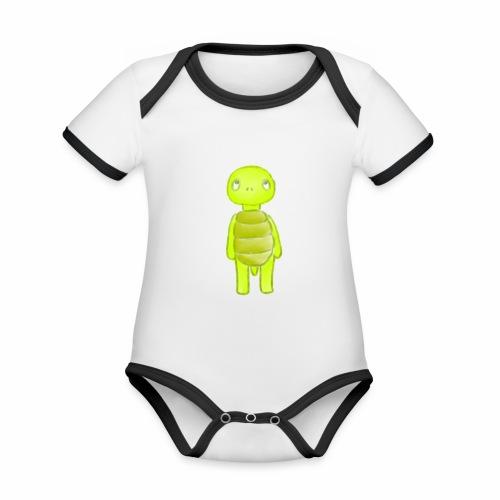 Fred - Baby Bio-Kurzarm-Kontrastbody