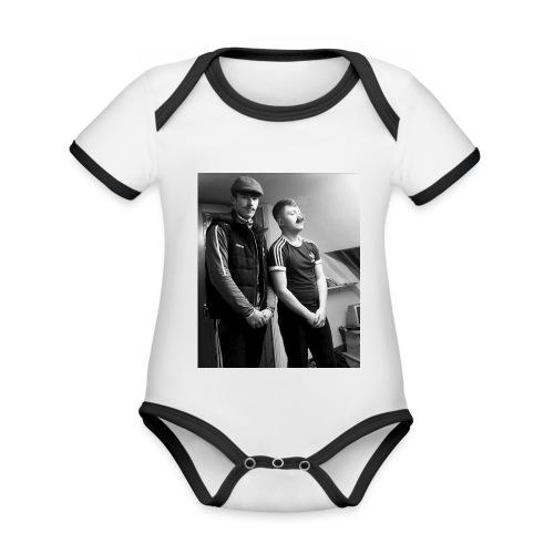 El Patron y Don Jay - Organic Baby Contrasting Bodysuit