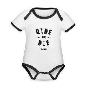 Fortnite Ride or Die - Organic Baby Contrasting Bodysuit