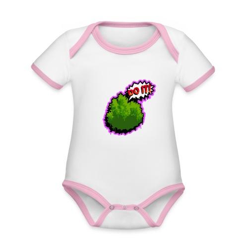 Fortnite Do It - Organic Baby Contrasting Bodysuit