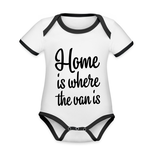 Home is where the van is - Autonaut.com - Organic Baby Contrasting Bodysuit