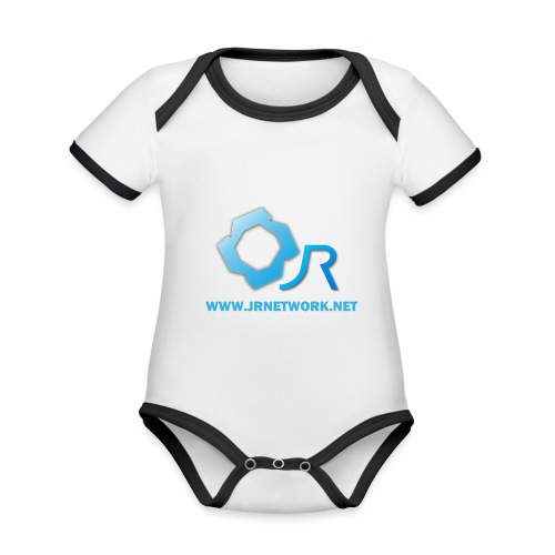 Official Logo - Organic Baby Contrasting Bodysuit