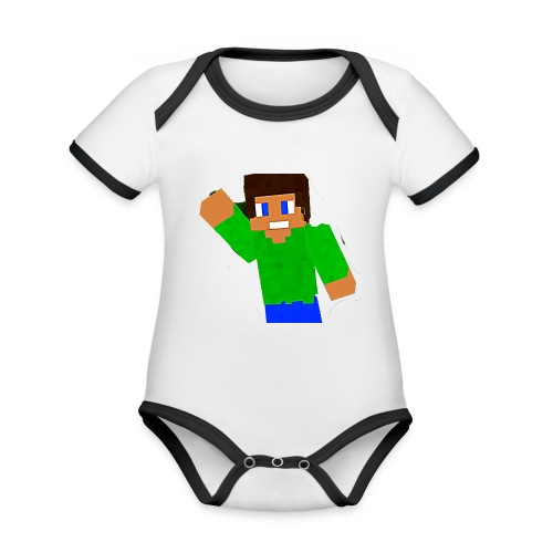 relapse special - Organic Baby Contrasting Bodysuit