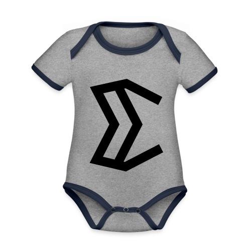 E - Organic Baby Contrasting Bodysuit