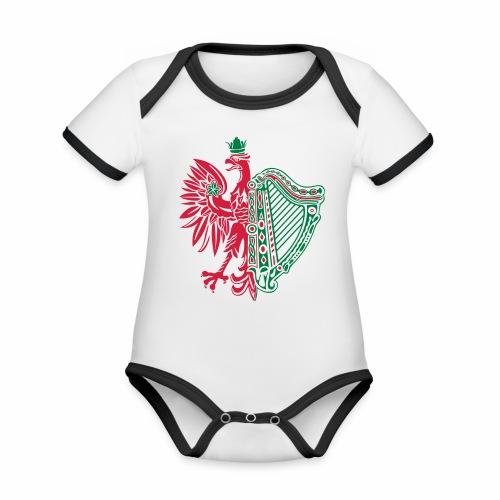 The Polish Irish - Organic Baby Contrasting Bodysuit