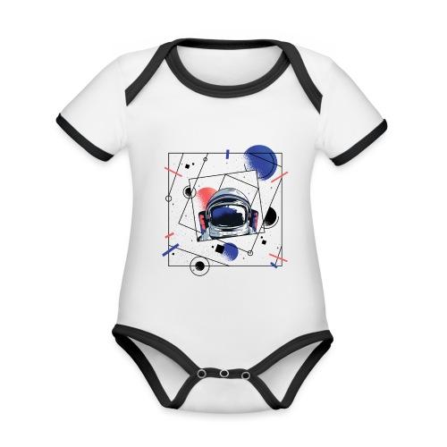 Beste Astronaut Weltraum Designs - Baby Bio-Kurzarm-Kontrastbody