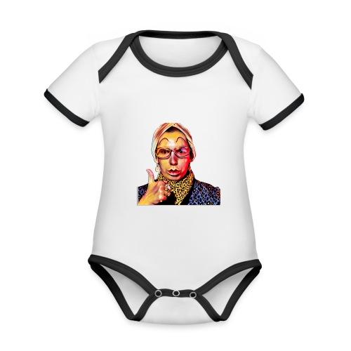 Madam2 - Organic Baby Contrasting Bodysuit