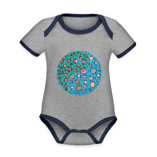 Yin Yang - Organic Baby Contrasting Bodysuit