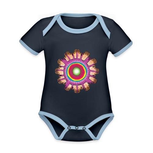 Victorian Sun Energy - Organic Baby Contrasting Bodysuit