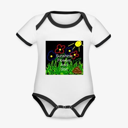 46F0F1F7 1A1F 49BC B472 BF5E2ADEC83A - Organic Baby Contrasting Bodysuit