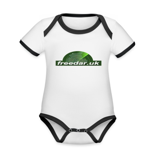 Freedar - Organic Baby Contrasting Bodysuit