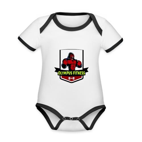 IMG 5053 21 07 17 10 57 116190 - Body da neonato a manica corta, ecologico e in contrasto cromatico