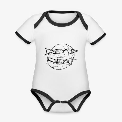 DeadBeat logo - Organic Baby Contrasting Bodysuit