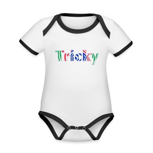 Tricky - Organic Baby Contrasting Bodysuit