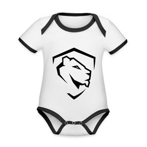 Aesthetics - Ekologiczne body niemowlęce z krótkim rękawem i kontrastowymi lamówkami