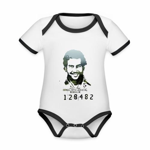Pablo Escobar - Regenwald in Kolumbien - Baby Bio-Kurzarm-Kontrastbody