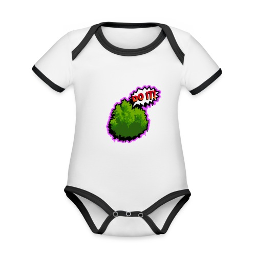 Fortnite Do It - Organic Baby Contrasting Bodysuit