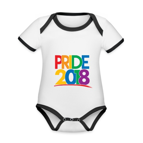 Pride 2018 - Organic Baby Contrasting Bodysuit