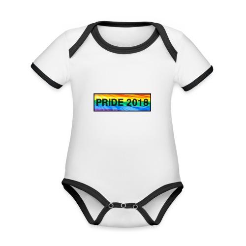 Pride 2018 long design - Organic Baby Contrasting Bodysuit