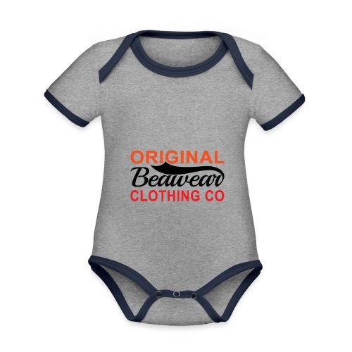 Original Beawear Clothing Co - Organic Baby Contrasting Bodysuit