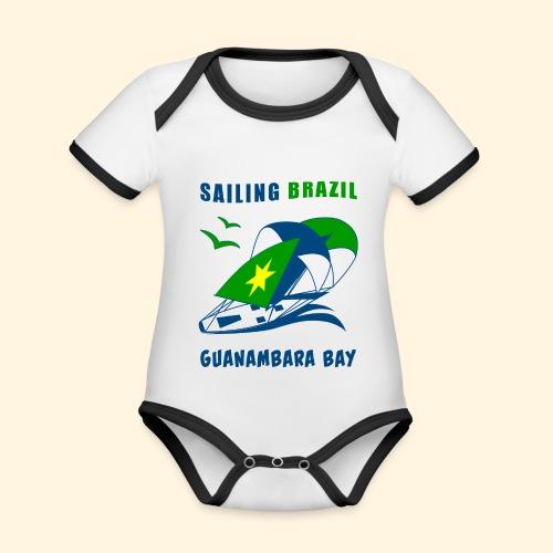 Sailing Brazil - Organic Baby Contrasting Bodysuit