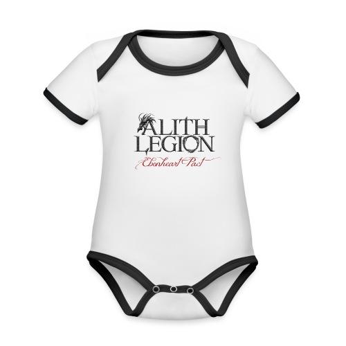 Alith Legion Logo Dragon Ebonheart Pact - Organic Baby Contrasting Bodysuit