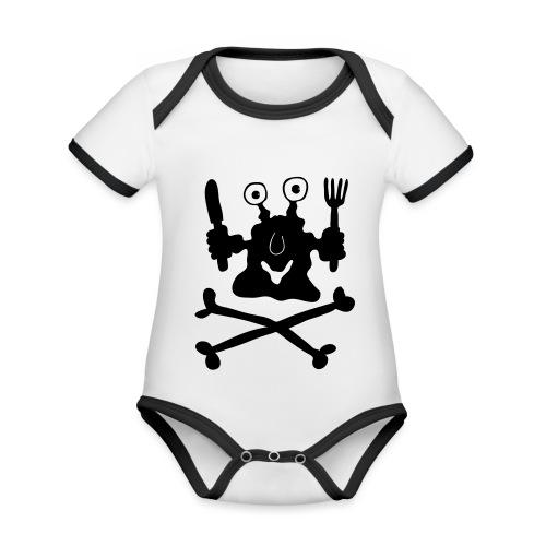 Koch - Baby Bio-Kurzarm-Kontrastbody