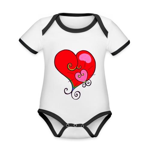 Magic Mother & Magic Child - Organic Baby Contrasting Bodysuit