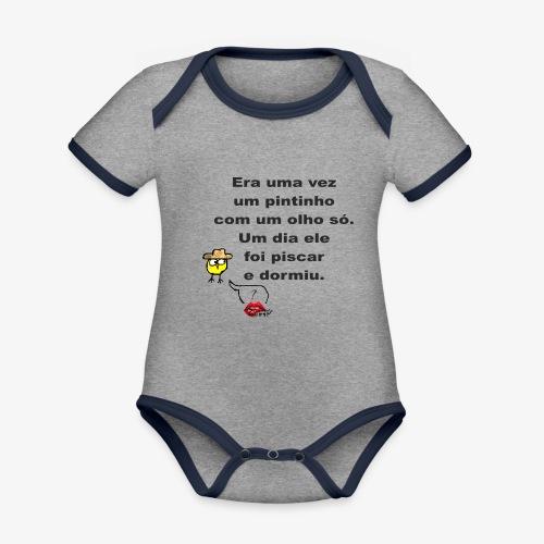 Era uma vez... - Organic Baby Contrasting Bodysuit