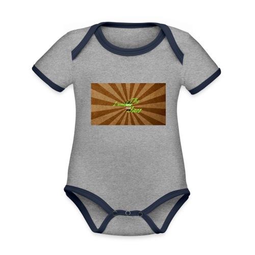 THELUMBERJACKS - Organic Baby Contrasting Bodysuit