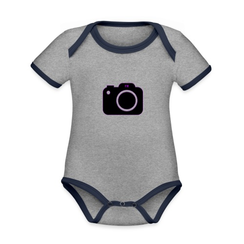 FM camera - Organic Baby Contrasting Bodysuit
