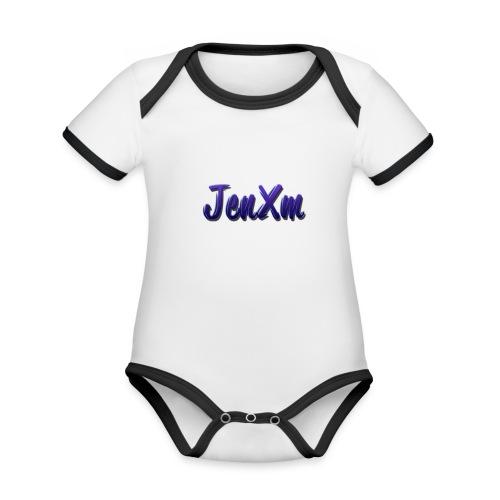 JenxM - Organic Baby Contrasting Bodysuit