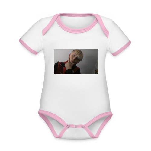 Perfect me merch - Organic Baby Contrasting Bodysuit