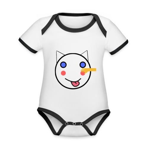 Alf Da Cat - Friend - Organic Baby Contrasting Bodysuit
