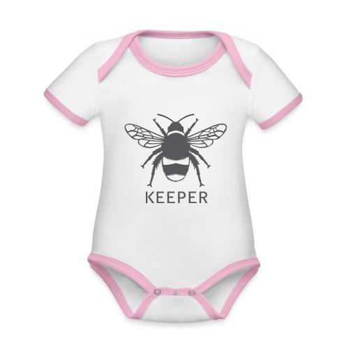 Bee Keeper - Organic Baby Contrasting Bodysuit
