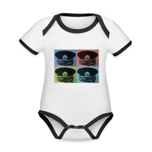 kepis - Body contraste para bebé de tejido orgánico