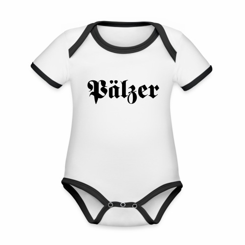 Pälzer - Baby Bio-Kurzarm-Kontrastbody