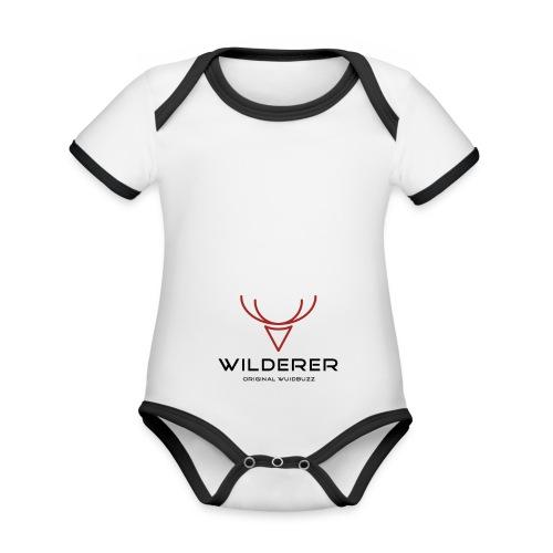 WUIDBUZZ | Wilderer | Männersache - Baby Bio-Kurzarm-Kontrastbody