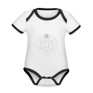 LSNFractal - Organic Baby Contrasting Bodysuit