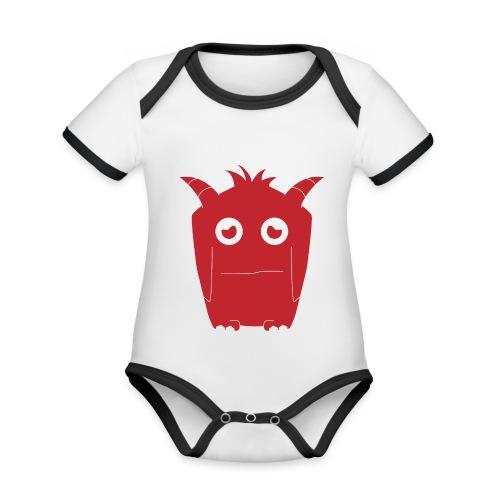 Lucie from smashET - Organic Baby Contrasting Bodysuit